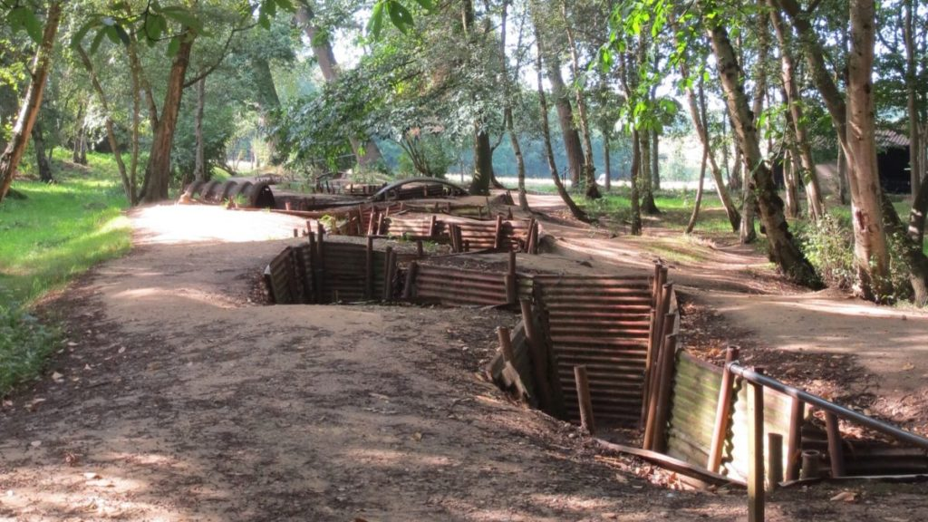 Travel to see Untouched Allied Trenches at Hill 62