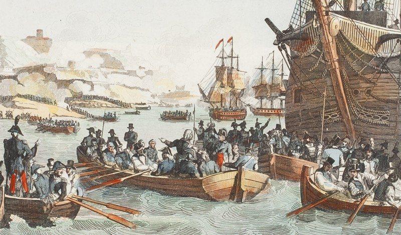 Malta History: Napoleon captures Malta