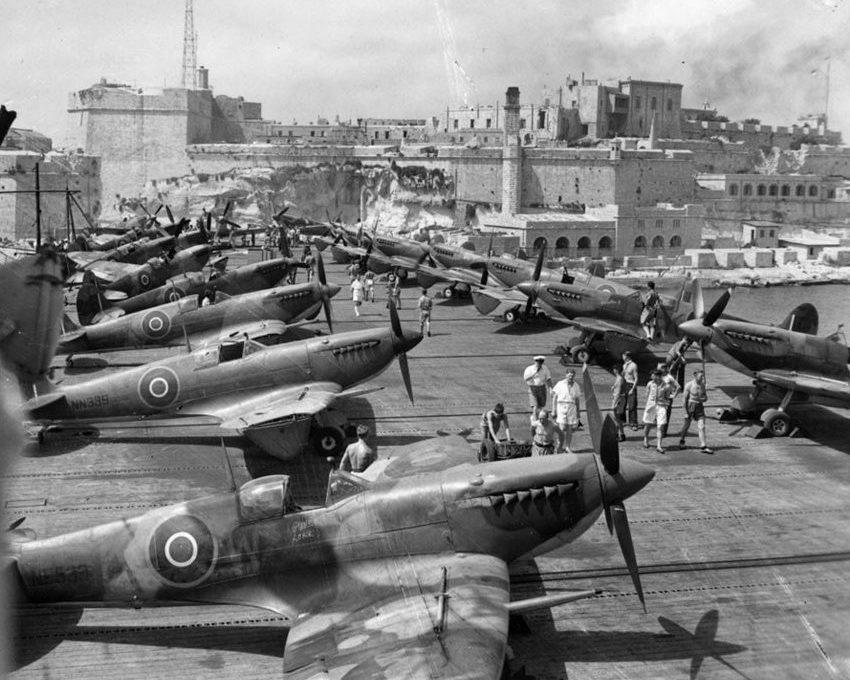 Malta History: RAF Spitfires help to defend Malta